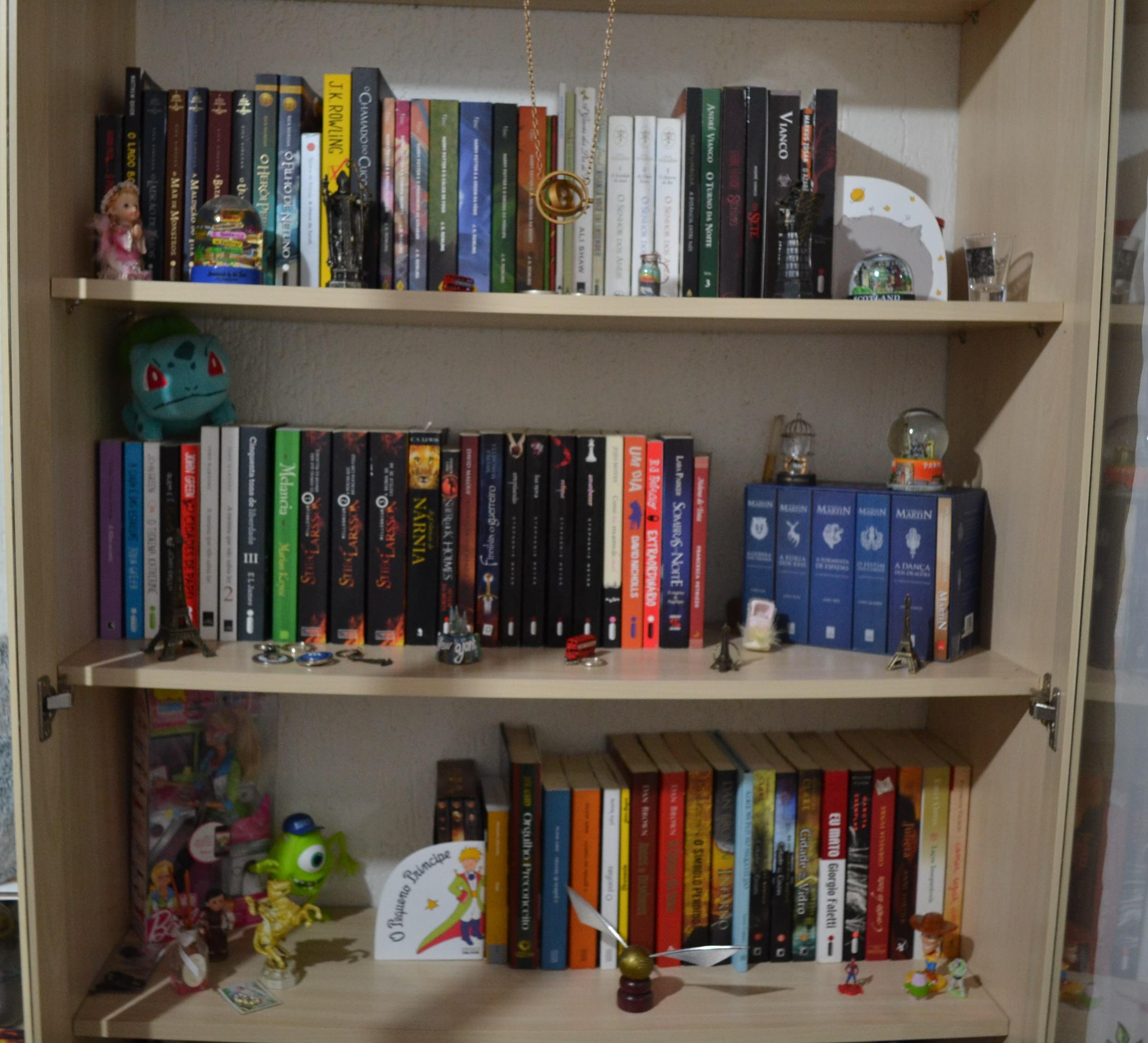 Atualmente eu possuo 95 livros sendo 58 lidos e consequentemente  #2F4068 2489x2261